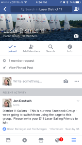 District 11 Facebook Group