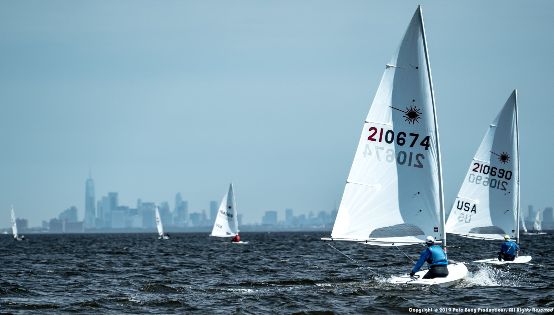 2019 Laser Atlantic Coast Championship at Monmouth Boat Club